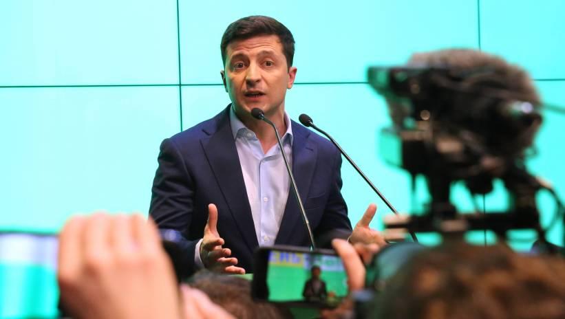 Ukraina: Wołodymyr Zełenski zaprzysiężony na urząd prezydenta