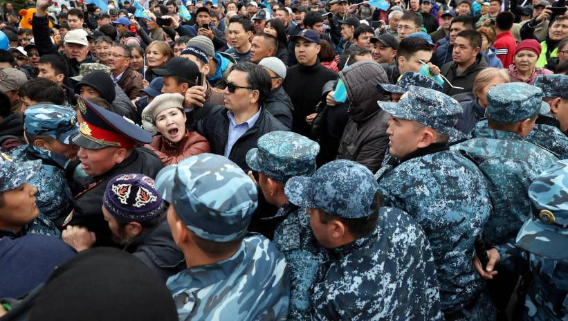 Kazachstan: 500 zatrzymanych podczas wyborów prezydenckich