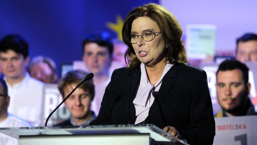 Małgorzata Kidawa-Błońska kandydatem Nowoczesnej na prezydenta