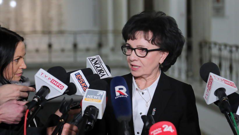 Witek: szef NIK Marian Banaś nie podał się do dymisji, nie otrzymałam żadnego pisma