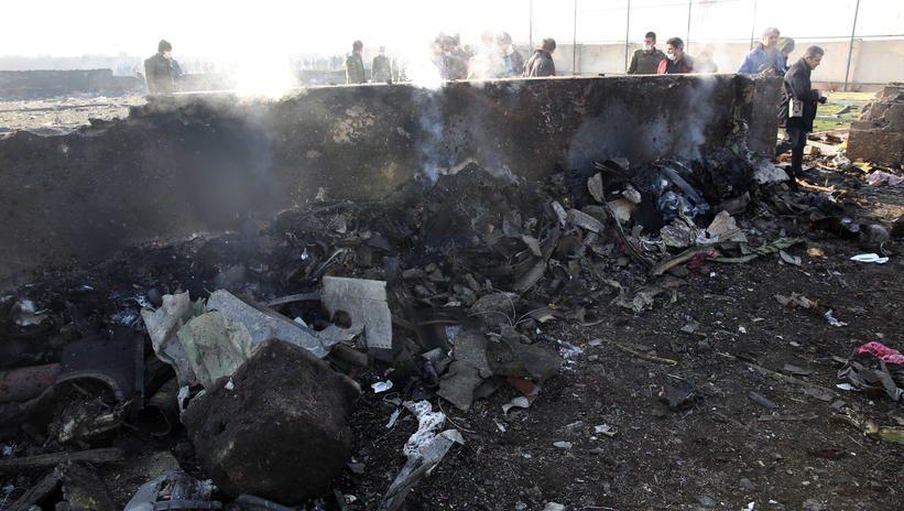 Ukraińscy śledczy uważają, że samolot UIA mógł być zestrzelony rosyjską rakietą