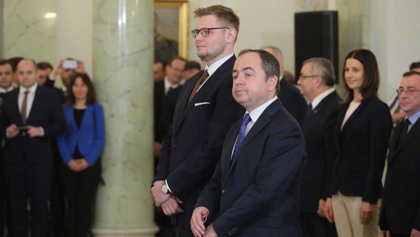 Konrad Szymański powołany na ministra ds UE, a Michał Woś na ministra środowiska