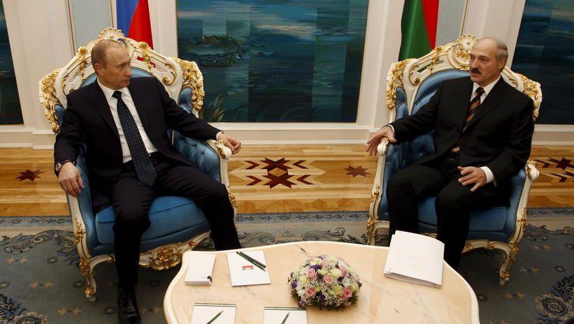 Łukaszenka przyleciał do Soczi na spotkanie z Putinem