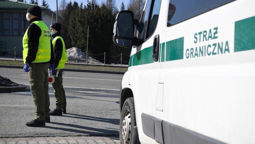 Funkcjonariusze polskiej Straży Granicznej wyruszyli z misją do Słowenii
