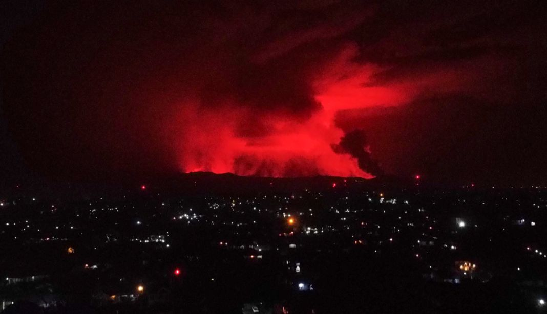 Wybuchł wulkan Nyiragongo na wschodzie Demokratycznej Republiki Konga